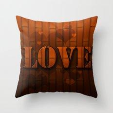 LOVE!  Throw Pillow