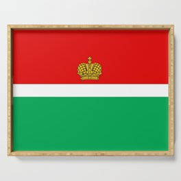 flag of Kaluga Serving Tray