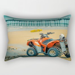 Vintage Baywatch Rectangular Pillow