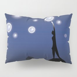 The dark is necessary to see the stars... Pillow Sham