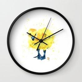 Baby Duck - Canada Goose Gosling Wall Clock