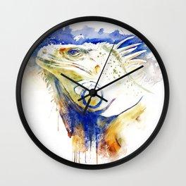 Iguana Head Wall Clock
