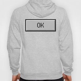 OK Windows Button - Aesthetic Vaporwave Hoody