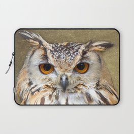 Indian Eagle Owl Laptop Sleeve