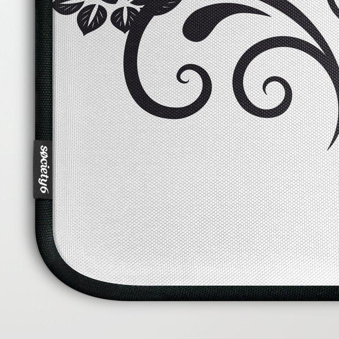 SKULL FLOWER 04 Laptop Sleeve