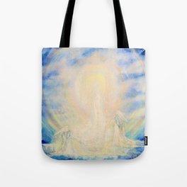 Spirit and Soul, Sky art Tote Bag