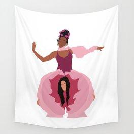 Pynk Minimalist: Janelle Monae & Tessa Thompson Wall Tapestry