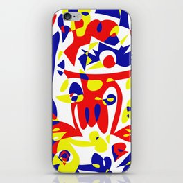 Lift up! iPhone Skin