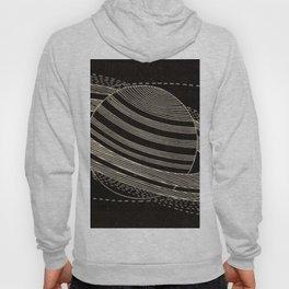 Black Saturn Hoody