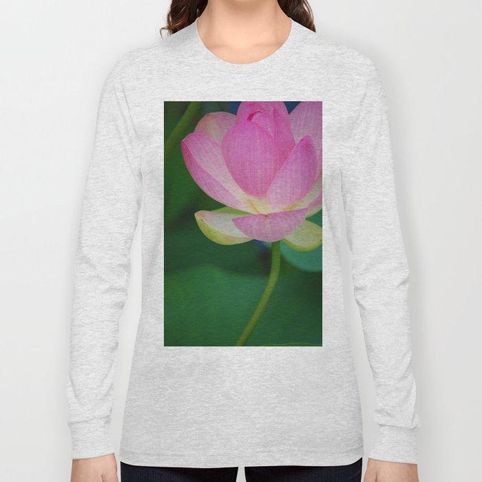 Lotus Blossom Flower 30 Long Sleeve T-shirt
