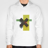 cross Hoodies featuring CROSS by Metron