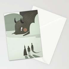 so they went to where the buffalos roamed. Stationery Cards