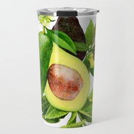 Avocado and its blossom Travel Mug