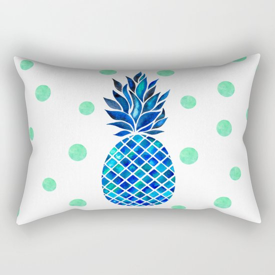 Maritime Pineapple Rectangular Pillow