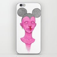 mouse iPhone & iPod Skins featuring MOUSE by nijikon