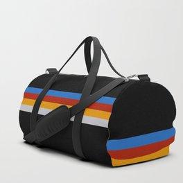 Frigg - Classic Minimal Retro Stripes Duffle Bag