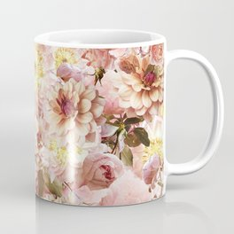 pink floral print | flower photography Coffee Mug