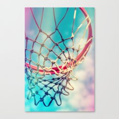 The Object Of Basketball Canvas Print