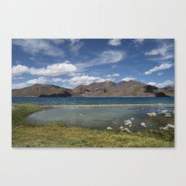 Pangong Tso Lake Canvas Print