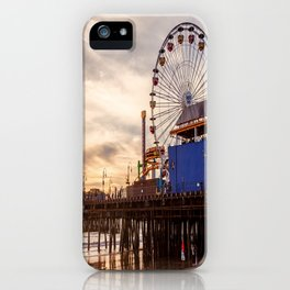 Santa Monica Pier Fun iPhone Case