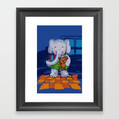 Playing Toys Framed Art Print