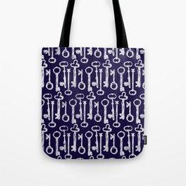 Keys Pattern Tote Bag