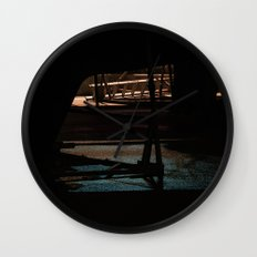 Night bow Wall Clock