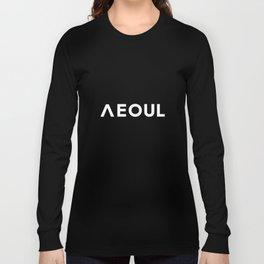 Seoul [Hangul] Long Sleeve T-shirt