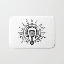 Lightbulb Bath Mat
