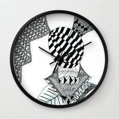 Fish Egg Creature Wall Clock
