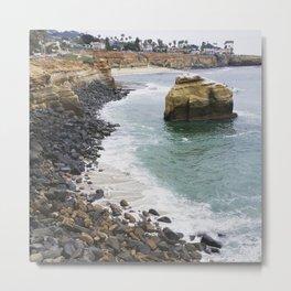 Sunset Cliffs San Diego 2 Metal Print