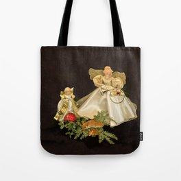 Angels Keeping Watch Tote Bag