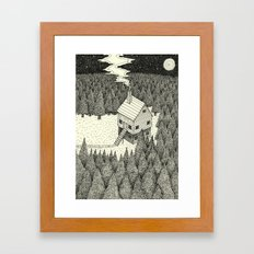 'The Middle Of Nowhere'  Framed Art Print