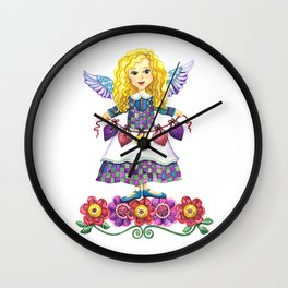 Angel Love Wall Clock