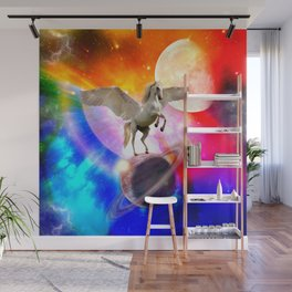 space unicorn. Wall Mural