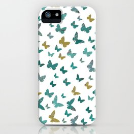 butterflies_yellow iPhone Case