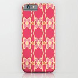 Cute Feminine Lattice Pattern iPhone Case