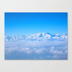 Alps from Up Top Canvas Print