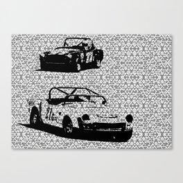 Vintage Racing #1 Canvas Print