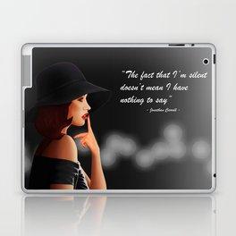 Silent Woman Laptop & iPad Skin