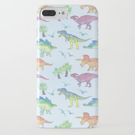 DINOSAURS!, painting by Frank-Joseph iPhone Case