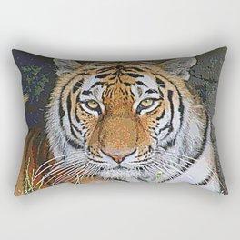 AnimalPaint_Tiger_20171201_by_JAMColors Rectangular Pillow