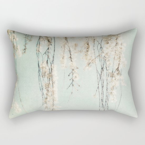 Old Town Blossoms Rectangular Pillow