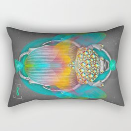 The Darkest Night Will End and the Sun Will Rise Rectangular Pillow