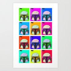 Boba-Hol Art Print