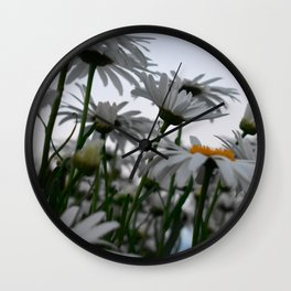 Giant Daisies Wall Clock