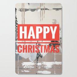 Snowfall - Happy Christmas Cutting Board