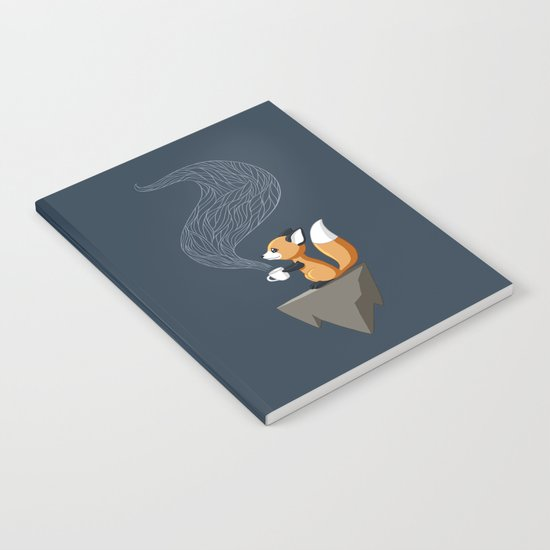 Fox Tea Notebook