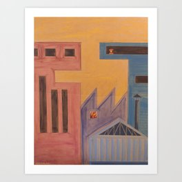 constructo visual 2 Art Print