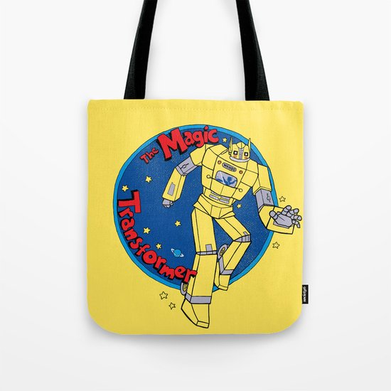 The Magic Transformer Tote Bag